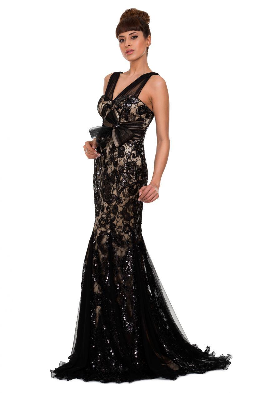 Kuyruklu s rt dekolteli abiye elbise pictures to pin on pinterest - Siyah Uzun Kuyruklu S Rt Dekolteli Abiye Elbise Pictures